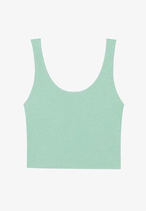 CROPPED - Débardeur - turquoise