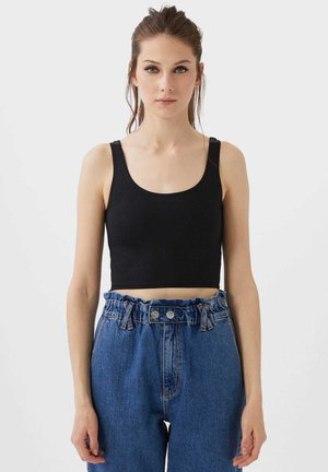 CROPPED - Toppi - black