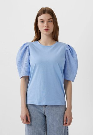 MIT BALLONÄRMELN - Blouse - blue