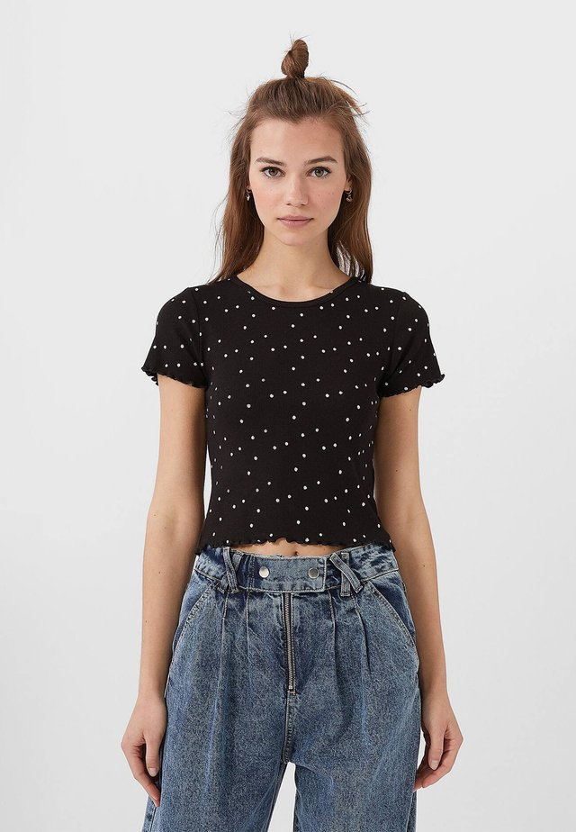 MIT PRINT - T-shirts print - black