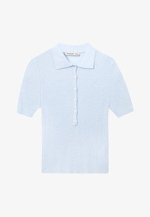 MIT KURZEN ÄRMELN - Poloshirts - blue