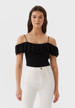 MIT VOLANT  - T-shirt print - black