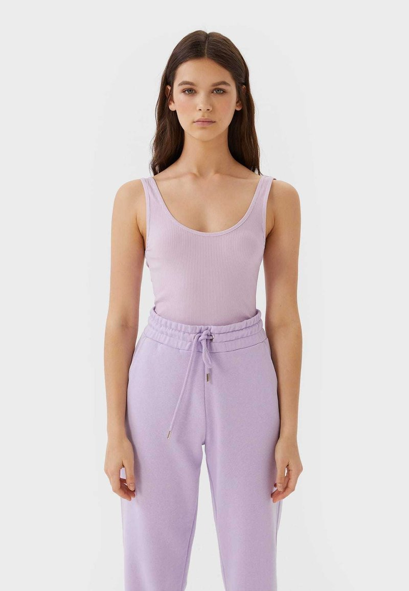 Stradivarius - Toppe - purple