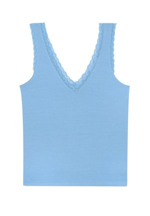 Top - light blue