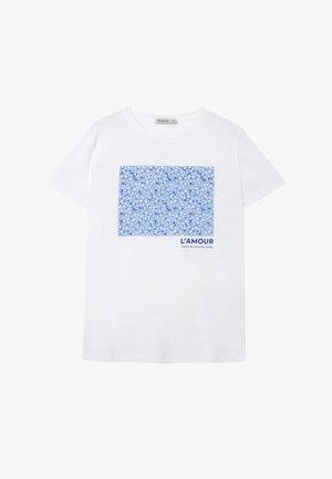 02593488 - Printtipaita - white