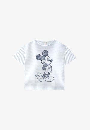 MIT MICKEY 06596473 - T-shirt z nadrukiem - white