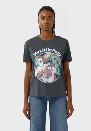 LITTLE PONY  - T-shirt imprimé - dark grey
