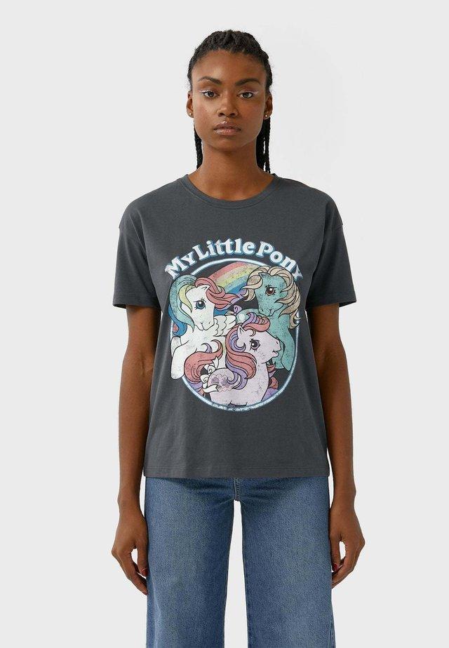 LITTLE PONY  - T-shirt z nadrukiem - dark grey
