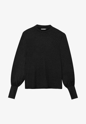 SHIRT MIT BALLONÄRMELN 06529890 - Maglione - black