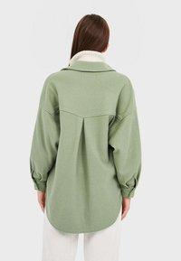 Stradivarius - Summer jacket - green - 2