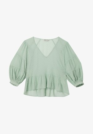PEPLUM - Blus - turquoise