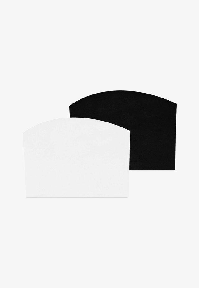 2 PACK - Top - black, white