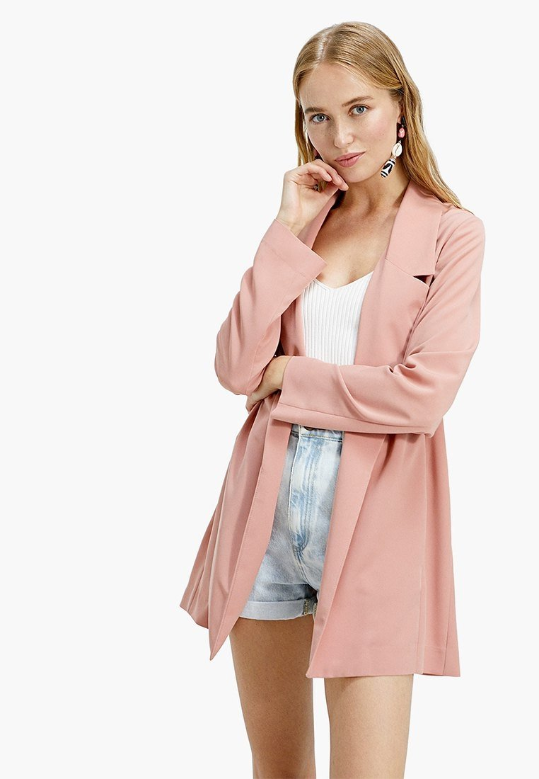 Stradivarius - Short coat - rose