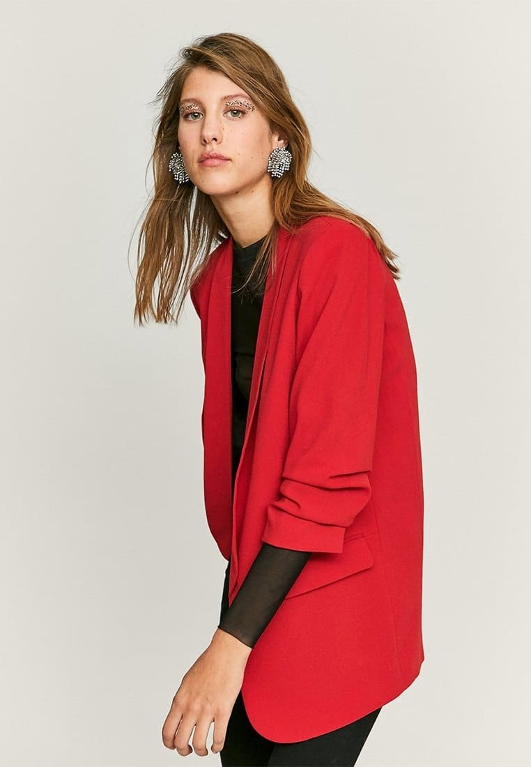 Stradivarius - Short coat - red