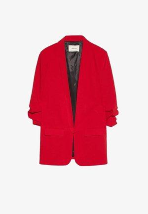 Cappotto corto - red