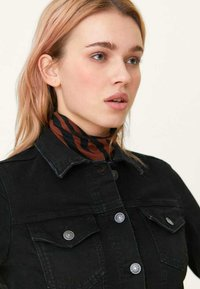 Stradivarius - SLIM-FIT - Denim jacket - black denim - 3