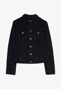 Stradivarius - SLIM-FIT - Denim jacket - black denim - 4