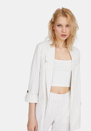 MIT STREIFEN  - Korte frakker - white