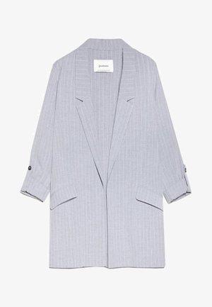 MIT STREIFEN  - Cappotto corto - grey