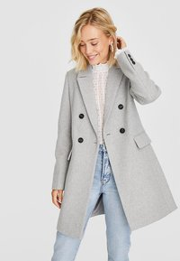 Stradivarius - Manteau court - grey - 0