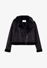 Stradivarius - Winter jacket - black - 4