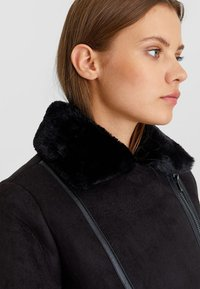 Stradivarius - Winter jacket - black - 3