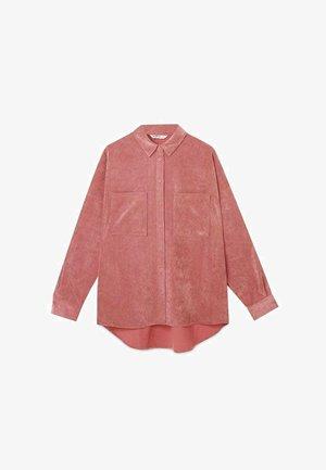 HEMDJACKE AUS CORD 06207471 - Summer jacket - rose