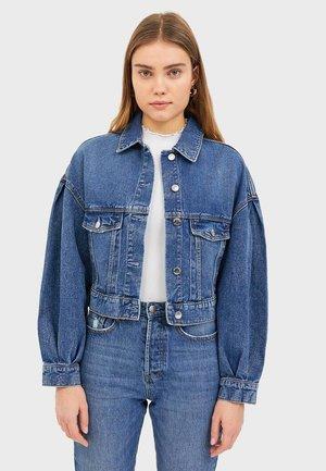 JEANSJACKE MIT PUFFÄRMELN 01767500 - Giacca di jeans - blue