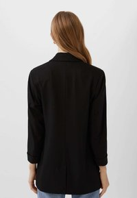 Stradivarius - Manteau court - black - 2