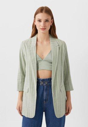 Manteau court - turquoise