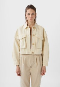 Stradivarius - Summer jacket - white - 0
