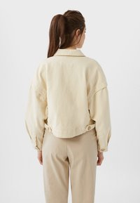 Stradivarius - Summer jacket - white - 2