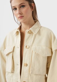 Stradivarius - Summer jacket - white - 3