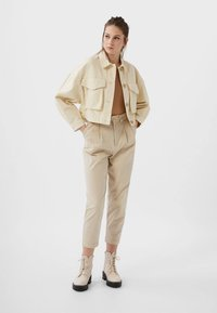 Stradivarius - Summer jacket - white - 1