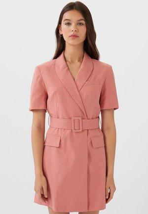 Shirt dress - rose