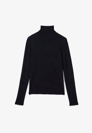 ROLLKRAGENPULLOVER - Pullover - black