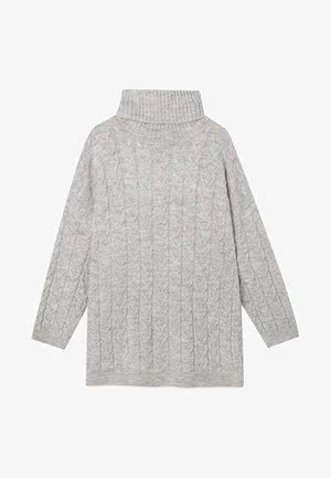 OVERSIZE-PULLOVER MIT ROLLKRAGEN 05056083 - Pullover - grey