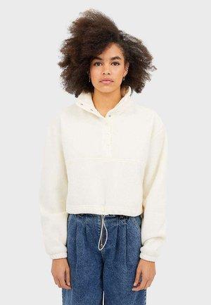 FLEECE-SWEATSHIRT 07301102 - Fleece jumper - white