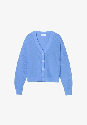 MIT FALLENDEN ÄRMELN - Cardigan - light blue