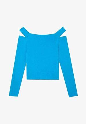 MIT CUT-OUTS  - Jumper - blue
