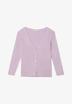 MIT 3/4 ÄRMEL  - Cardigan - purple