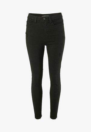 MIT SUPERHOHEM BUND  - Jeans Skinny - black