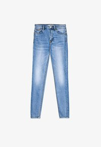 Stradivarius - Jeans Skinny Fit - blue denim - 5
