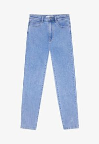 Stradivarius - Straight leg jeans - dark blue - 4