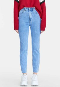 Stradivarius - Straight leg jeans - dark blue - 0