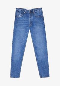 Stradivarius - MOM-FIT - Jeans slim fit - blue denim - 4