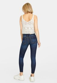 Stradivarius - Jeans Skinny - blue denim - 2