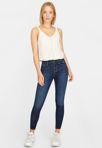 Stradivarius - Jeans Skinny - blue denim - 1