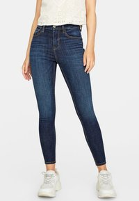 Stradivarius - Jeans Skinny - blue denim - 0