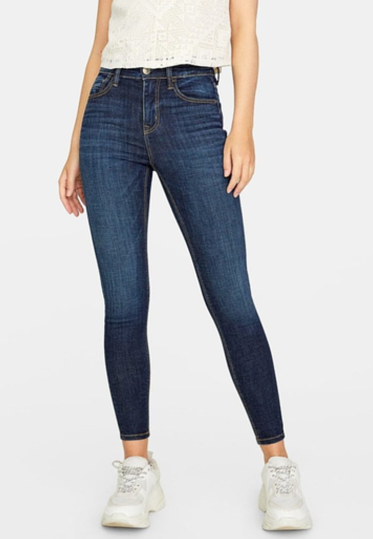 Stradivarius - Jeans Skinny Fit - blue denim